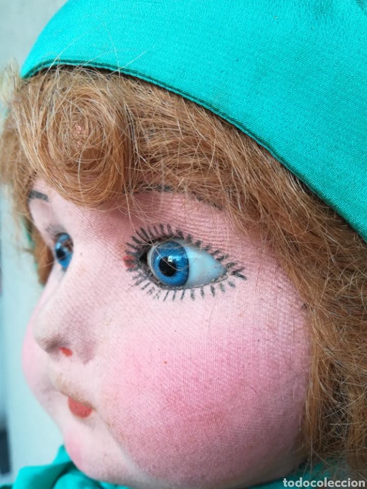 Muñeca española clasica: Antigua Muñeca marca Florido andadora 80 cms de altura ojos fijos de cristal - Madrid - Original - Foto 12 - 143282918