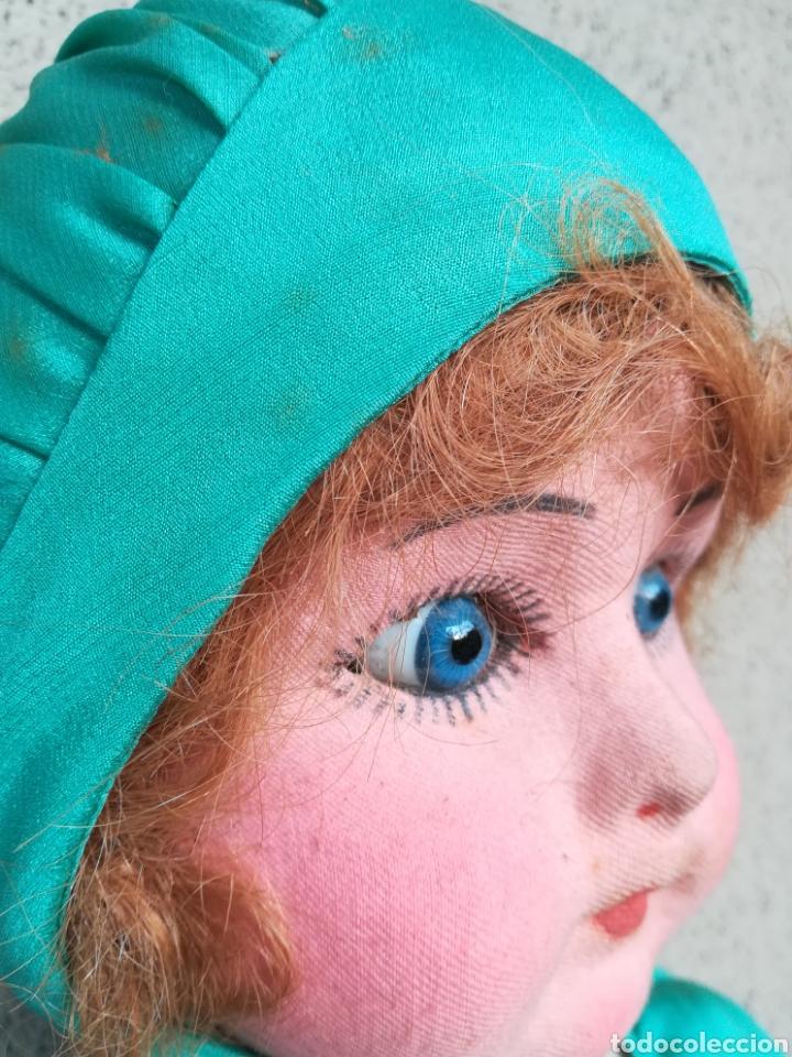 Muñeca española clasica: Antigua Muñeca marca Florido andadora 80 cms de altura ojos fijos de cristal - Madrid - Original - Foto 13 - 143282918