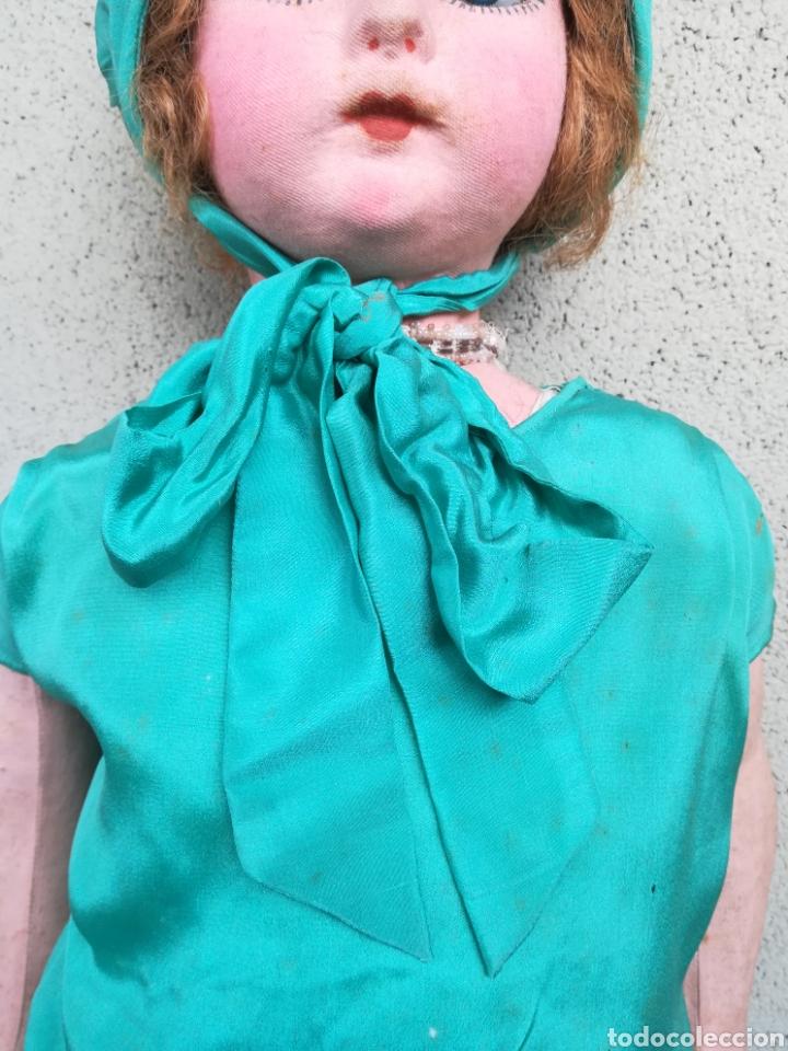 Muñeca española clasica: Antigua Muñeca marca Florido andadora 80 cms de altura ojos fijos de cristal - Madrid - Original - Foto 15 - 143282918