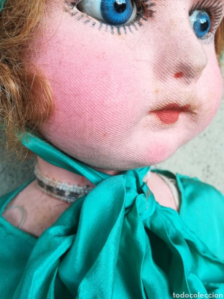 Muñeca española clasica: Antigua Muñeca marca Florido andadora 80 cms de altura ojos fijos de cristal - Madrid - Original - Foto 16 - 143282918