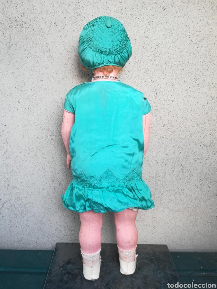 Muñeca española clasica: Antigua Muñeca marca Florido andadora 80 cms de altura ojos fijos de cristal - Madrid - Original - Foto 21 - 143282918