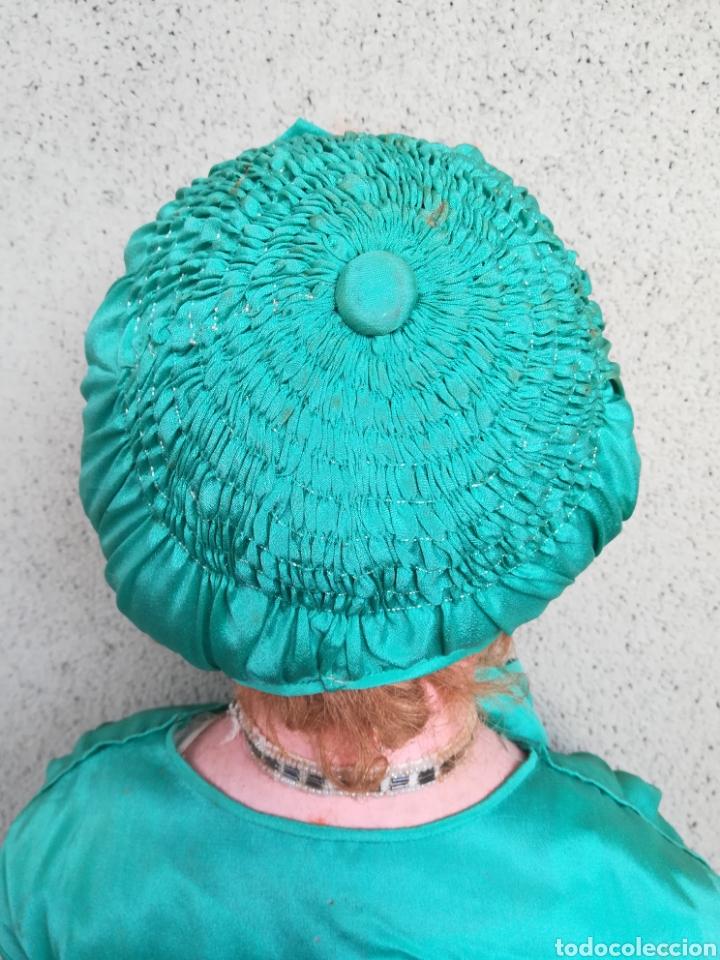 Muñeca española clasica: Antigua Muñeca marca Florido andadora 80 cms de altura ojos fijos de cristal - Madrid - Original - Foto 22 - 143282918