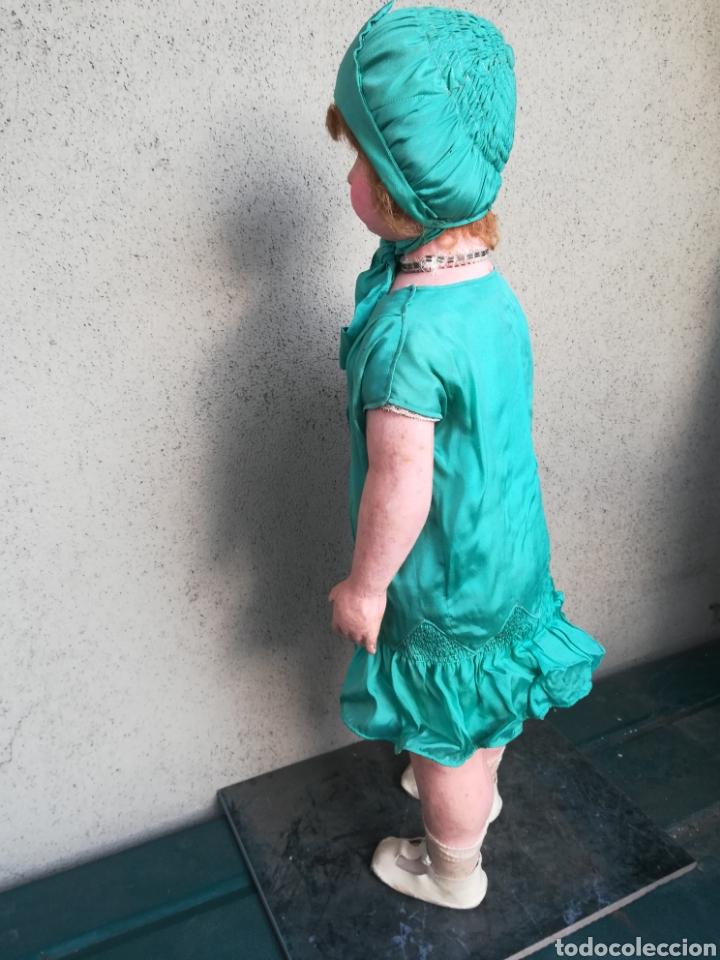 Muñeca española clasica: Antigua Muñeca marca Florido andadora 80 cms de altura ojos fijos de cristal - Madrid - Original - Foto 33 - 143282918