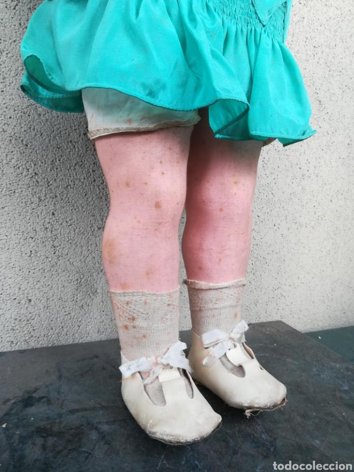 Muñeca española clasica: Antigua Muñeca marca Florido andadora 80 cms de altura ojos fijos de cristal - Madrid - Original - Foto 36 - 143282918
