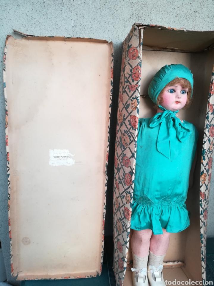 Muñeca española clasica: Antigua Muñeca marca Florido andadora 80 cms de altura ojos fijos de cristal - Madrid - Original - Foto 40 - 143282918