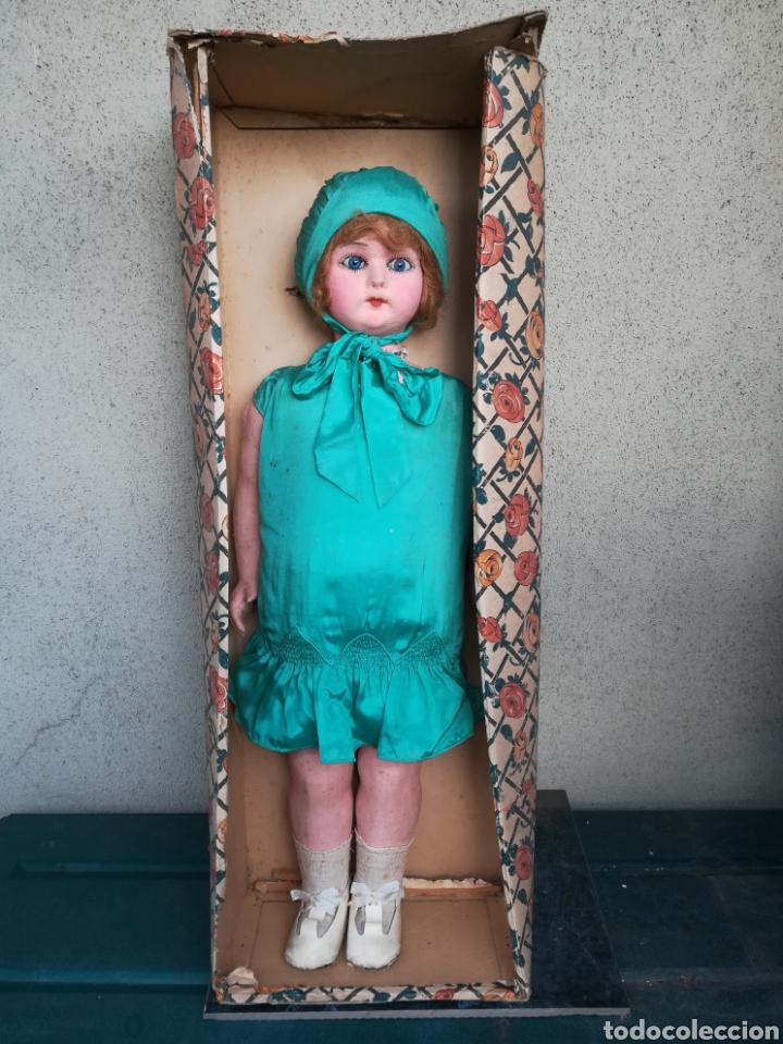 Muñeca española clasica: Antigua Muñeca marca Florido andadora 80 cms de altura ojos fijos de cristal - Madrid - Original - Foto 42 - 143282918