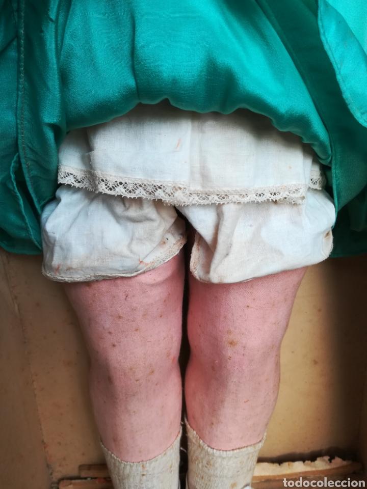 Muñeca española clasica: Antigua Muñeca marca Florido andadora 80 cms de altura ojos fijos de cristal - Madrid - Original - Foto 48 - 143282918