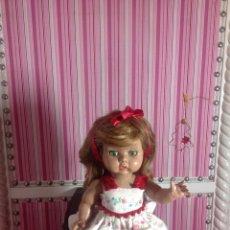 Muñeca española clasica: ANGELA,ANGELITA DE INDUSTRIAS LEB PELIRROJA. Lote 143910452