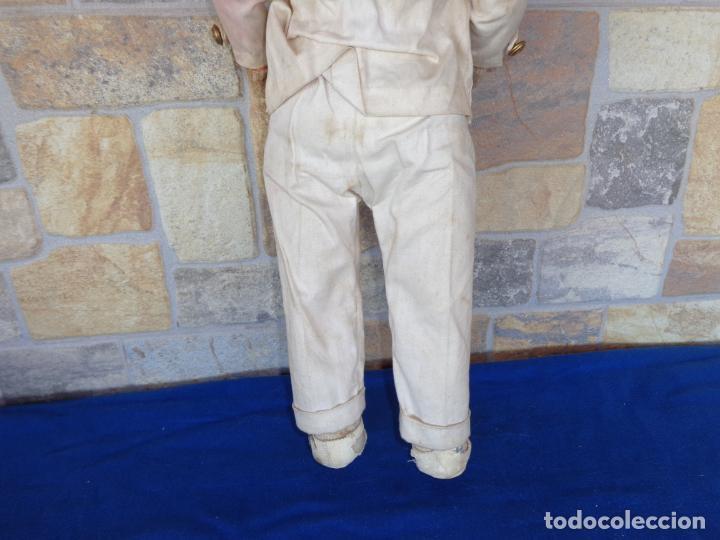 Muñeca española clasica: ANTIGUA MUÑECA DE CARTON PIEDRA AÑOS 40/50, PARA PIEZAS O RESTAURAR VER FOTOS Y DESCRIPCION! SM - Foto 37 - 144802638