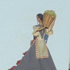 Muñeca española clasica: MUÑECA MARIN. MUJER VENDIMIADORA. VENDIMIA. CON TODOS LOS DETALLES. 45 CM ALTO. CON PIE. VER FOTOS. Lote 146500734