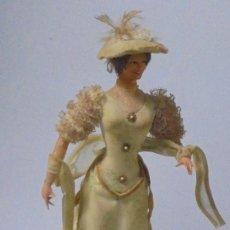 Muñeca española clasica: MUÑECA MARIN. TRAJE ROMANTICO / VICTORIANO. TODOS LOS DETALLES.42 CM ALTO. CON PIE. VER FOTOS. Lote 146505814