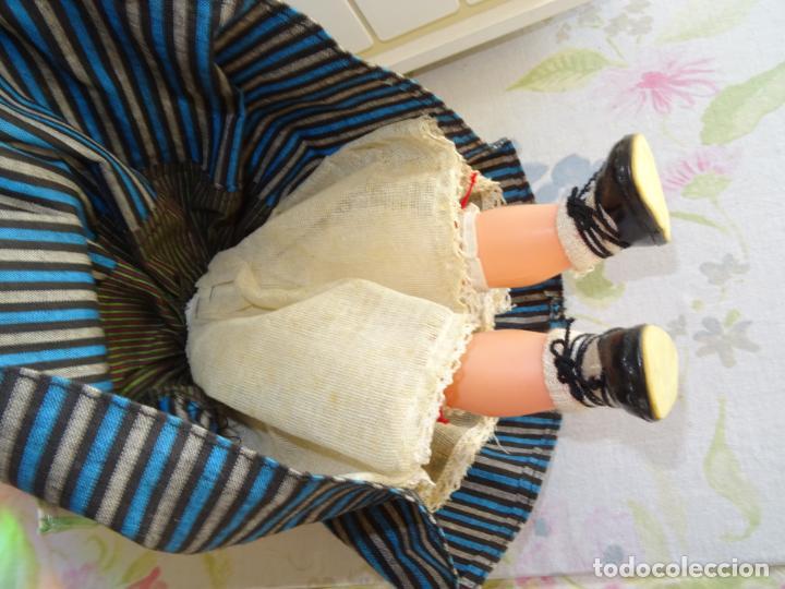 Muñeca española clasica: ANTIGUA MUÑECA TERESIN MARCA DURÁ VESTIDA CON EL TRAJE TÍPICO DE BALEARES - Foto 6 - 147031282