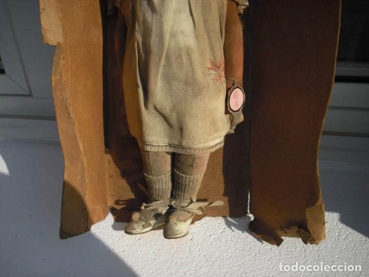 Muñeca española clasica: Salida hoy de un antiguo almacen allì ha estado desde los años 40,,jamàs tocada,totalmente original, - Foto 2 - 147185610