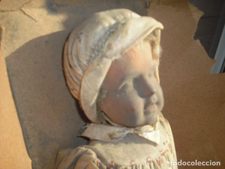 Muñeca española clasica: Salida hoy de un antiguo almacen allì ha estado desde los años 40,,jamàs tocada,totalmente original, - Foto 4 - 147185610
