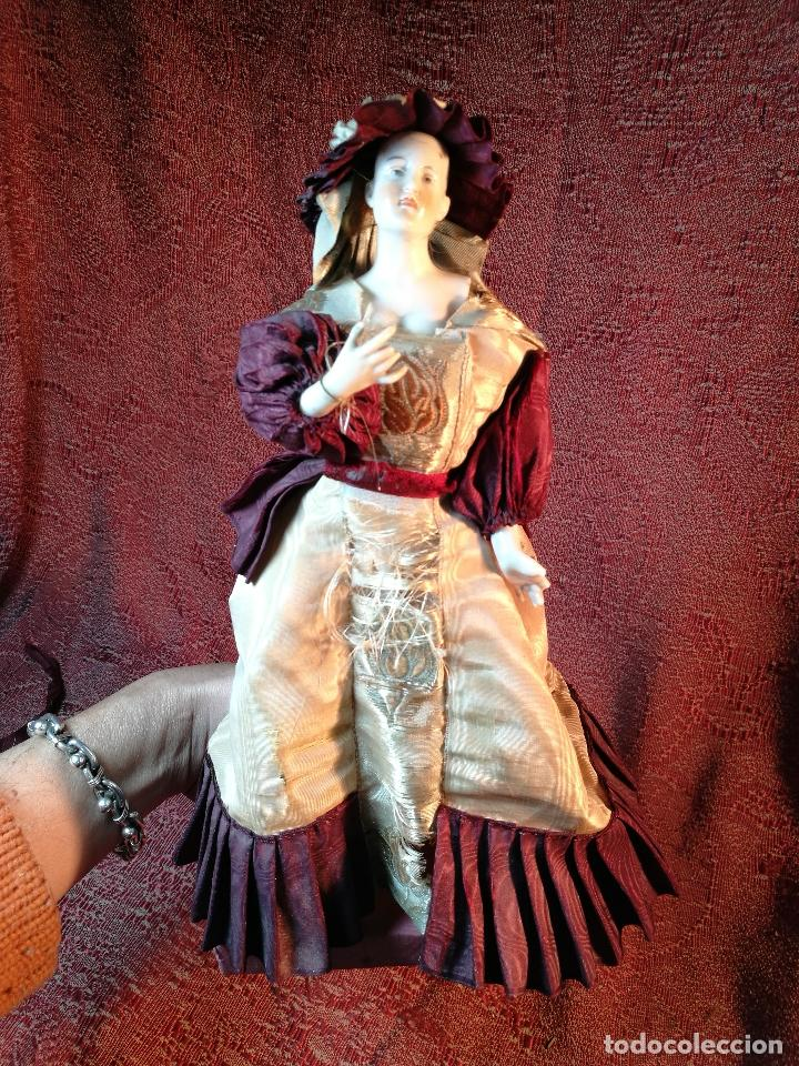 Klassische spanische Puppen: muñeca maniqui porcelana vestidera otros materiales--siglo XIX- 30 CM - Foto 2 - 147450534