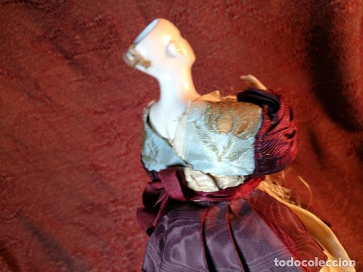 Klassische spanische Puppen: muñeca maniqui porcelana vestidera otros materiales--siglo XIX- 30 CM - Foto 8 - 147450534