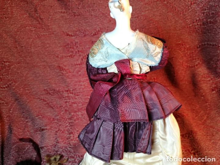 Klassische spanische Puppen: muñeca maniqui porcelana vestidera otros materiales--siglo XIX- 30 CM - Foto 10 - 147450534