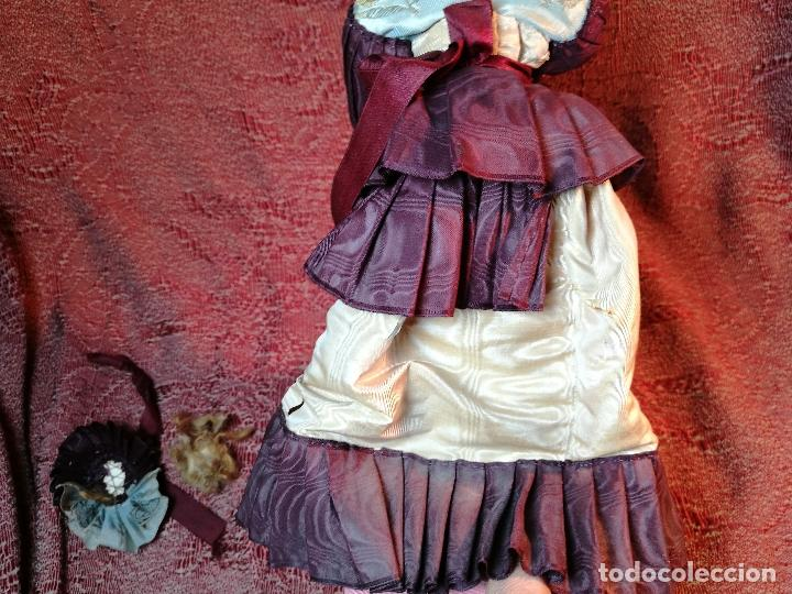 Klassische spanische Puppen: muñeca maniqui porcelana vestidera otros materiales--siglo XIX- 30 CM - Foto 11 - 147450534