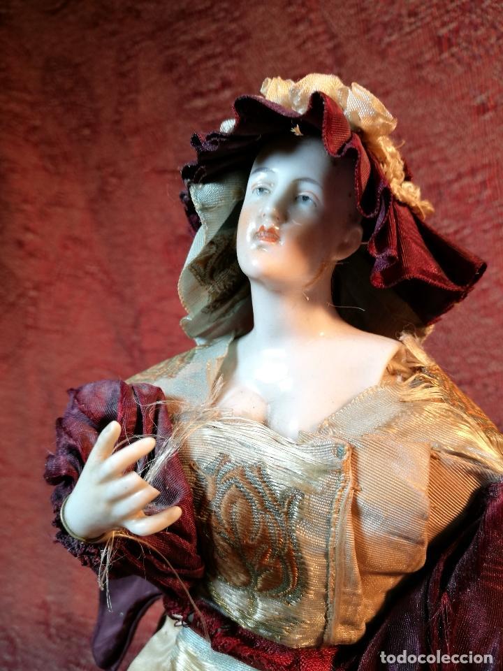 Klassische spanische Puppen: muñeca maniqui porcelana vestidera otros materiales--siglo XIX- 30 CM - Foto 19 - 147450534