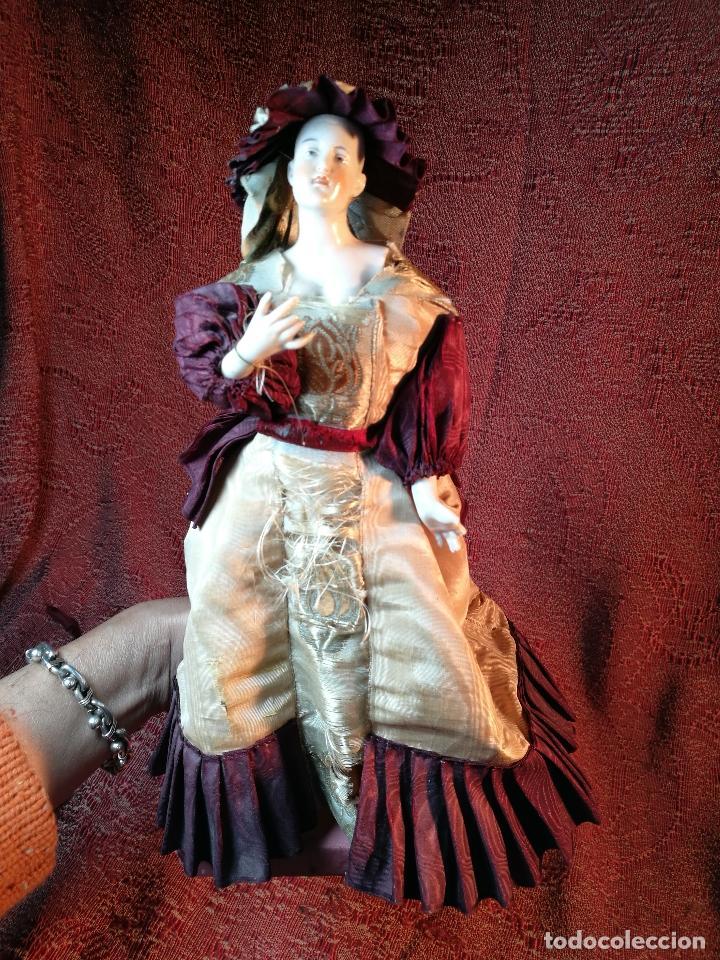 Klassische spanische Puppen: muñeca maniqui porcelana vestidera otros materiales--siglo XIX- 30 CM - Foto 25 - 147450534