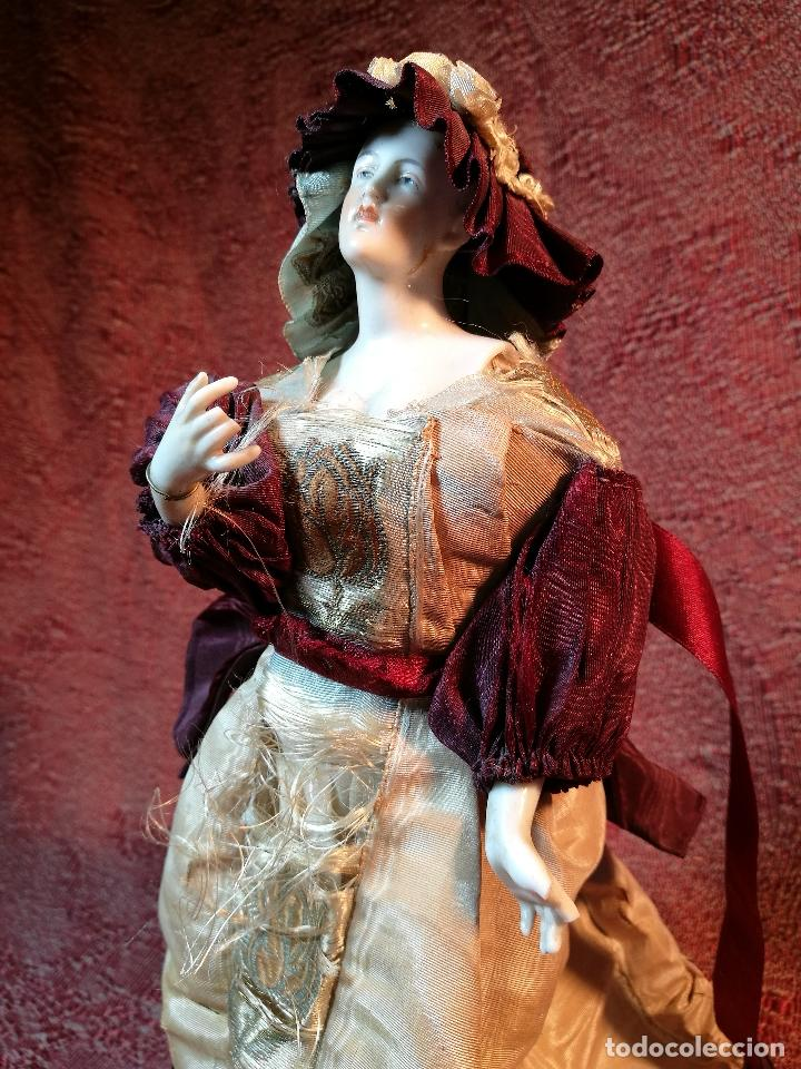 Klassische spanische Puppen: muñeca maniqui porcelana vestidera otros materiales--siglo XIX- 30 CM - Foto 26 - 147450534