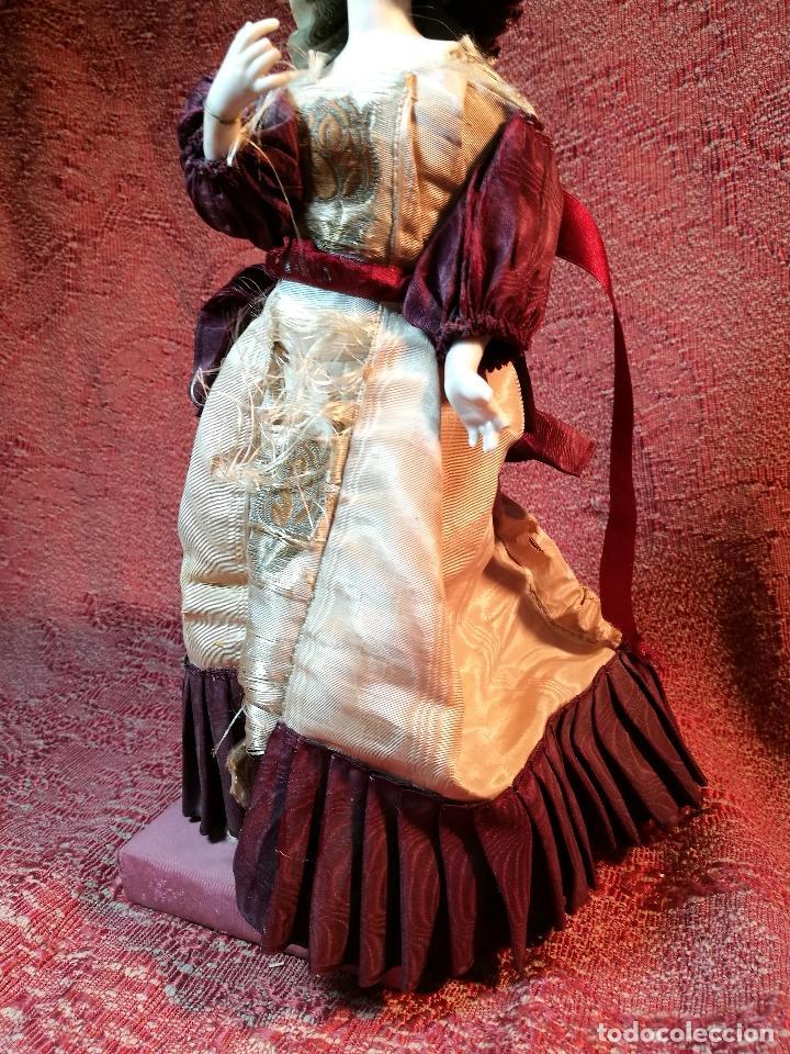 Klassische spanische Puppen: muñeca maniqui porcelana vestidera otros materiales--siglo XIX- 30 CM - Foto 28 - 147450534