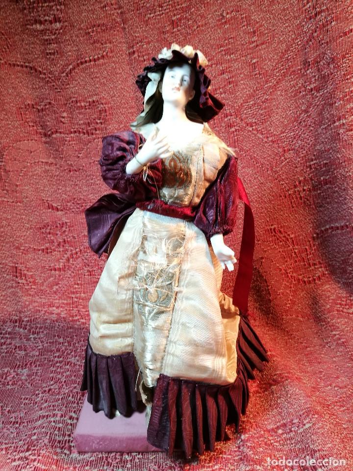 Klassische spanische Puppen: muñeca maniqui porcelana vestidera otros materiales--siglo XIX- 30 CM - Foto 29 - 147450534