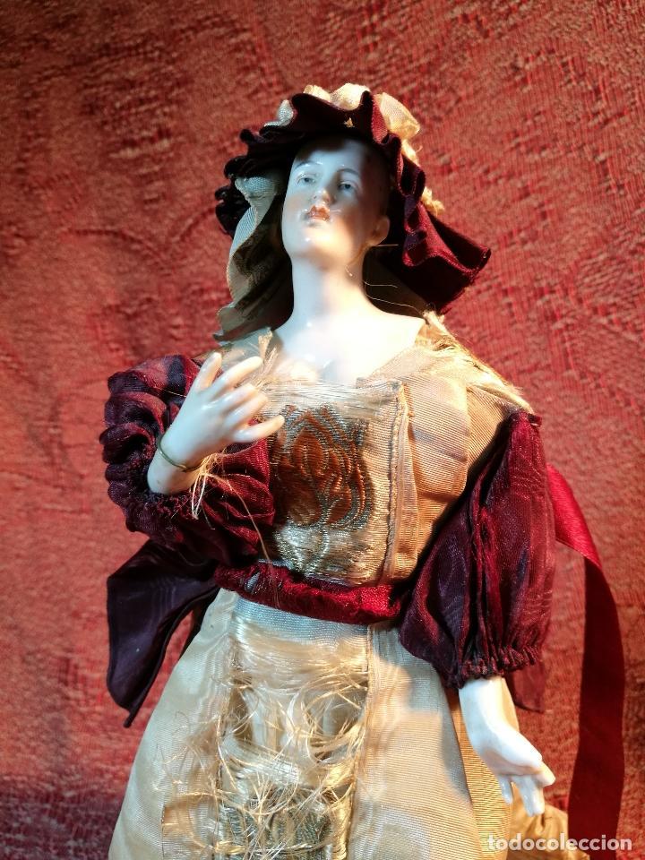 Klassische spanische Puppen: muñeca maniqui porcelana vestidera otros materiales--siglo XIX- 30 CM - Foto 31 - 147450534