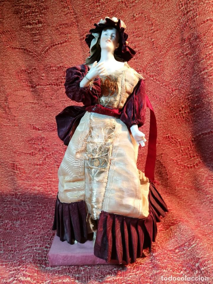 Klassische spanische Puppen: muñeca maniqui porcelana vestidera otros materiales--siglo XIX- 30 CM - Foto 32 - 147450534