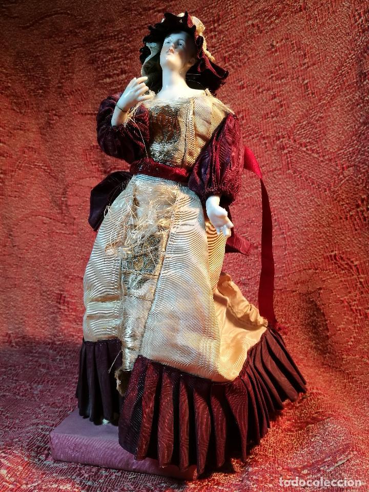 Klassische spanische Puppen: muñeca maniqui porcelana vestidera otros materiales--siglo XIX- 30 CM - Foto 33 - 147450534