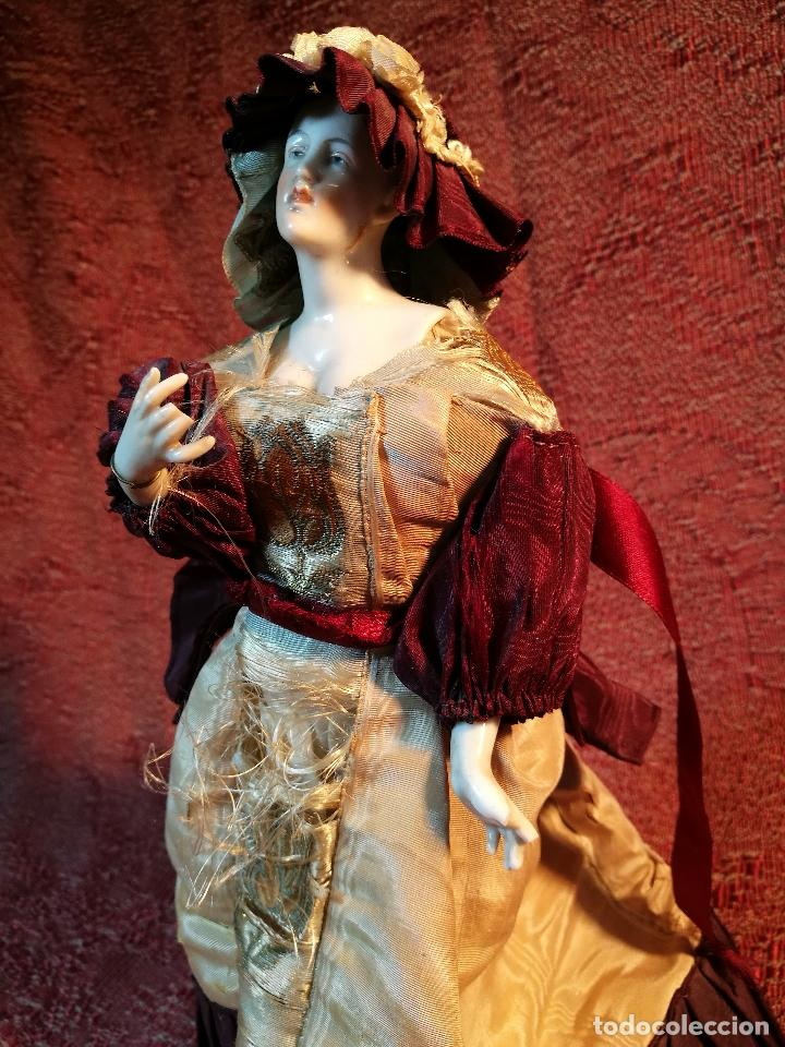 Klassische spanische Puppen: muñeca maniqui porcelana vestidera otros materiales--siglo XIX- 30 CM - Foto 34 - 147450534