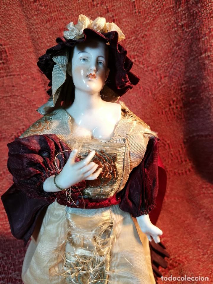 Klassische spanische Puppen: muñeca maniqui porcelana vestidera otros materiales--siglo XIX- 30 CM - Foto 36 - 147450534