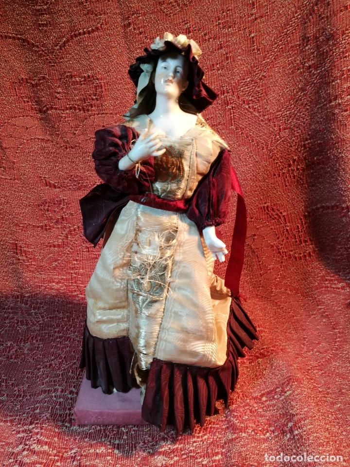 Klassische spanische Puppen: muñeca maniqui porcelana vestidera otros materiales--siglo XIX- 30 CM - Foto 37 - 147450534