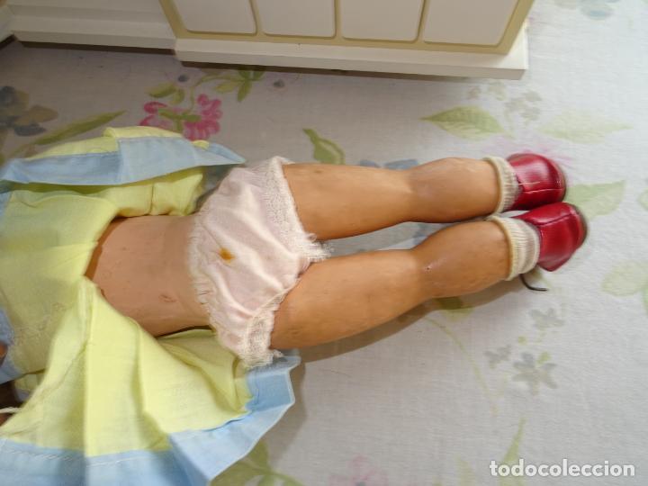 Muñeca española clasica: ANTIGUA MUÑECA AÑOS 50 EN CARTÓN PIEDRA - Foto 8 - 147476862