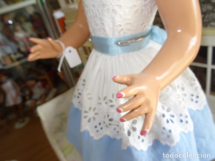 Muñeca española clasica: ANTIGUA MUÑECA TERESIN DE DURÁ AÑOS 50 EN CARTÓN PIEDRA - Foto 7 - 147477406