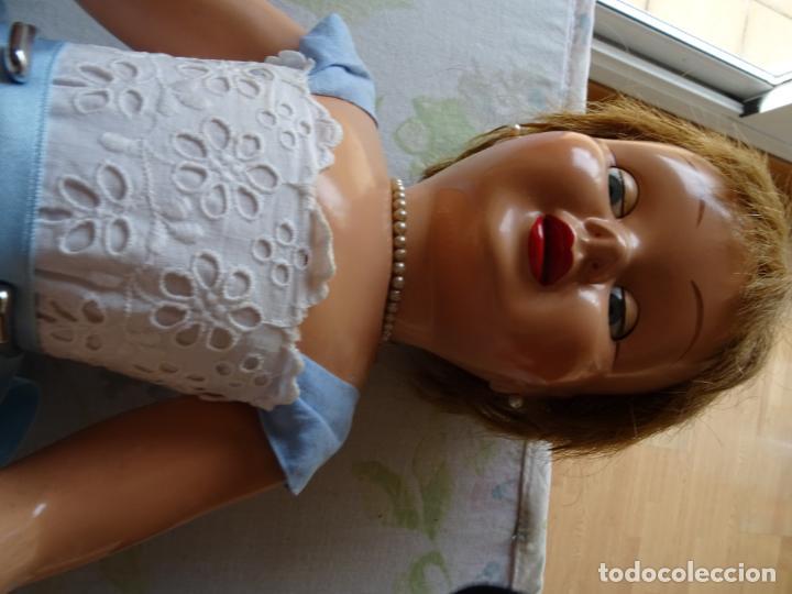 Muñeca española clasica: ANTIGUA MUÑECA TERESIN DE DURÁ AÑOS 50 EN CARTÓN PIEDRA - Foto 12 - 147477406