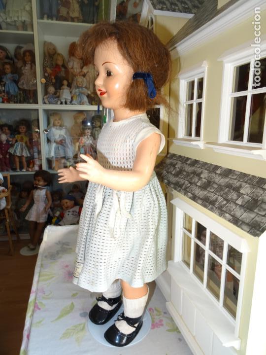 Muñeca española clasica: ANTIGUA MUÑECA CHELITO DE JOSE BERENGUER - ONIL AÑOS 50 EN CARTÓN PIEDRA CON ETIQUETA DE VENTA - Foto 4 - 147478094