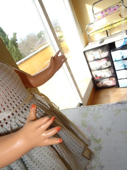 Muñeca española clasica: ANTIGUA MUÑECA CHELITO DE JOSE BERENGUER - ONIL AÑOS 50 EN CARTÓN PIEDRA CON ETIQUETA DE VENTA - Foto 7 - 147478094