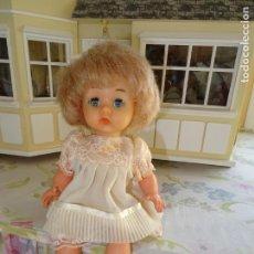 Muñeca española clasica: ANTIGUA MUÑECA ANGELITA DE INDUSTRIAS LEB AÑOS 50. Lote 147480494
