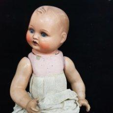 Muñeca española clasica: MUÑECA DE CARTON PIEDRA 1920. Lote 147543350
