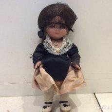 Muñeca española clasica: LINDA PRULA REGIONAL OJOS DORMIR CELULOIDE AÑOS 60. Lote 147563929