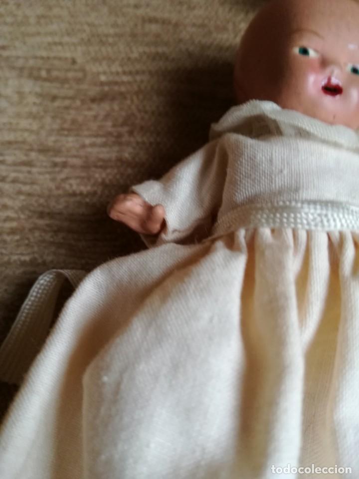 Muñeca española clasica: Minibebé de terracota años 30 - Foto 3 - 147601102