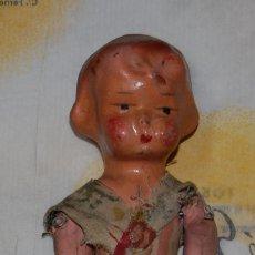 Muñeca española clasica: MUÑECA MUÑECO DE CARTÓN PIEDRA AÑOS 40 . Lote 147658094