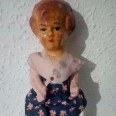 Muñeca española clasica: ANTIGUA MUÑECA PEPONA CARTON PIEDRA. Lote 147705078