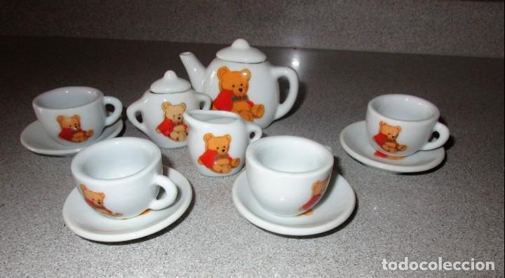 Muñeca española clasica: Juego de 13 piezas de cafe de ceramica - Foto 2 - 147845778