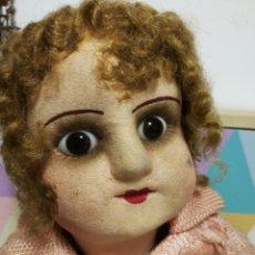 Muñeca española clasica: MUÑECA ANTIGUA OJOS DE CRISTAL. Lote 147888325