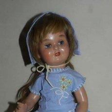 Muñeca española clasica: MUY BONITA MUÑECA MARY CRIS DE FINALES DE LOS 40 - CREADA EN MUÑECAS FLORIDO, COETÁNEA DE MARIQ. Lote 147926194