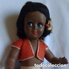 Muñeca española clasica: MUÑECA NEGRITA ANTIGUA. Lote 147964850