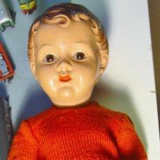 Muñeca española clasica: ANTIGUO MUÑECO ESPAÑOL EN CELOLOIDE. MARCA A. PARRA. BUEN ESTADO: 39 CM ALTURA.. Lote 148182390
