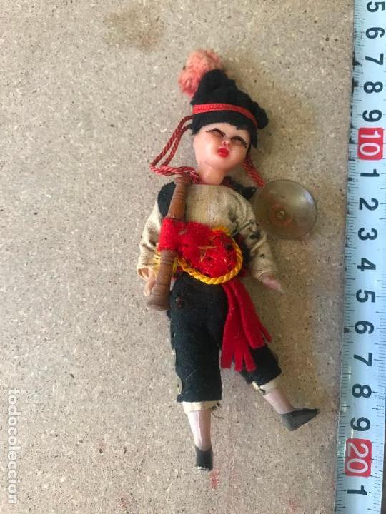 Muñeca española clasica: pequeño muñeco de celuloide 10 cm - Foto 2 - 148501666